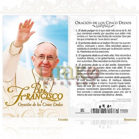 5OPM44H Papa Francisco ORO