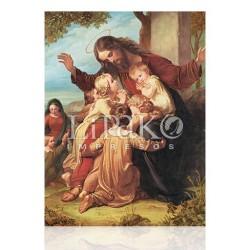CMA18L Jesús con los niños