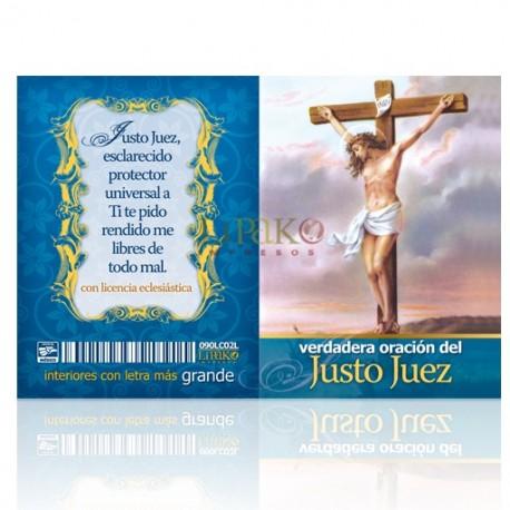 LC02 verdadera oración al justo juez