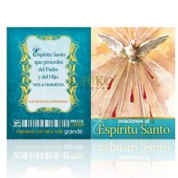 LC15 oraciones al espíritu santo