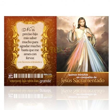 LC27 15 minutos con jesús sacramentado
