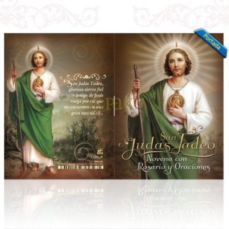 LG20 Novena con Rosario y Oraciones a San Judas Tadeo