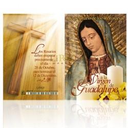 LM13 Devocionario de los 46 Rosarios a la Santísima Virgen de GUdalupe