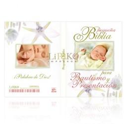 MB01 Mini Biblia Bautismo y Presentación