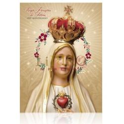Virgen de Fatima Aniversario