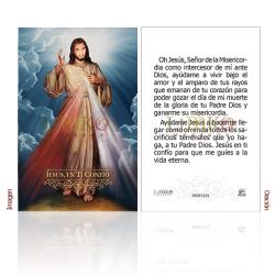 090ES22L Señor Misericordia (Jesús en ti confío)