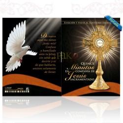 15 Minutos en Compañía de Jesús Sacramentado (Negro)