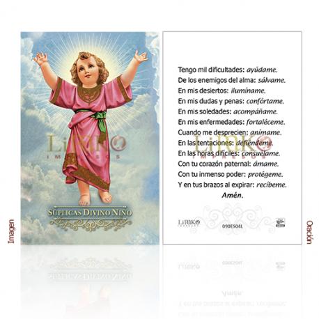 090ES04L Divino Niño (súplicas)