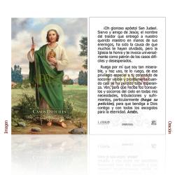 090ES16L San Judas Tadeo (casos difíciles)