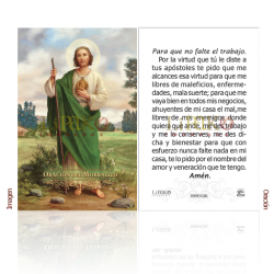 090ES18L San Judas Tadeo (morralito)