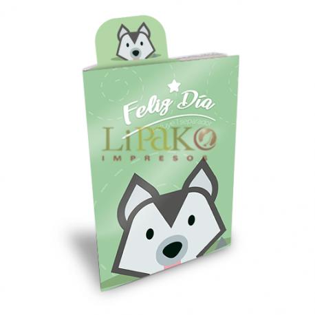 """090LN02 FelizDia """"Perrito"""""""