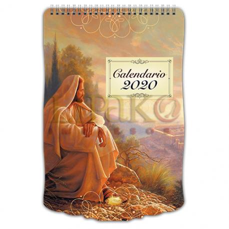 Calendario Cromo sencillo